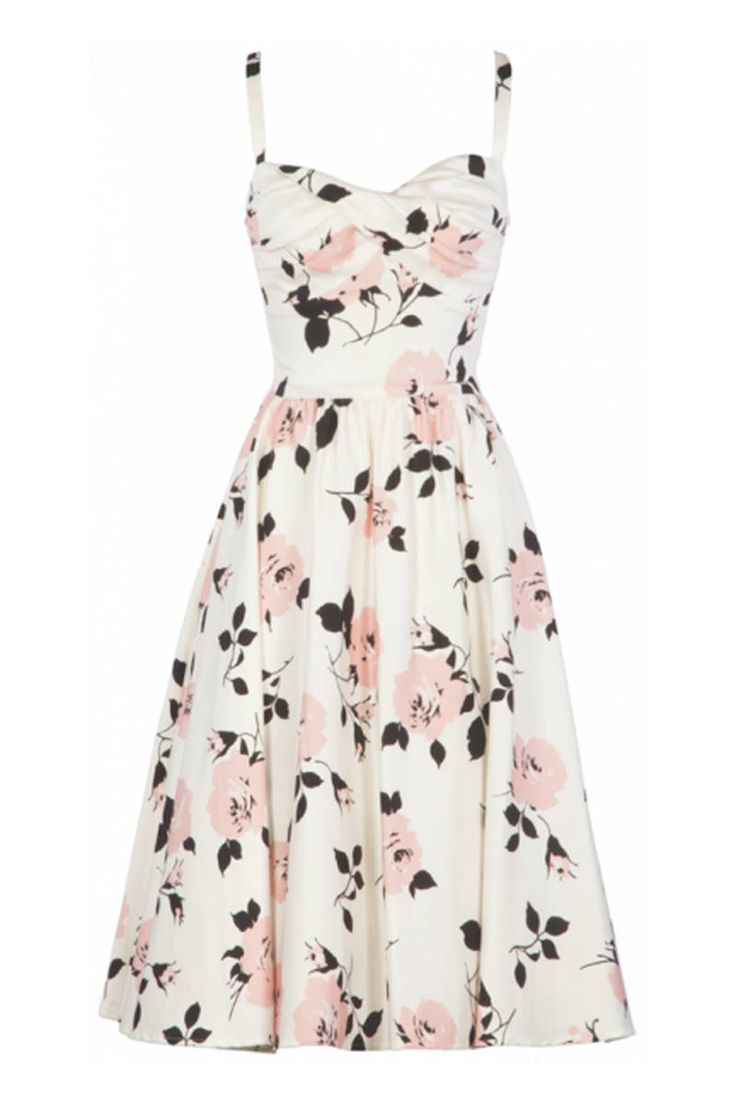 Affordable AND chic! It doesn't get much better than this...perfect for attending Sunday brunch with the girls, or a high society summer wedding.