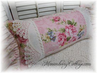 Posh cottage pillows
