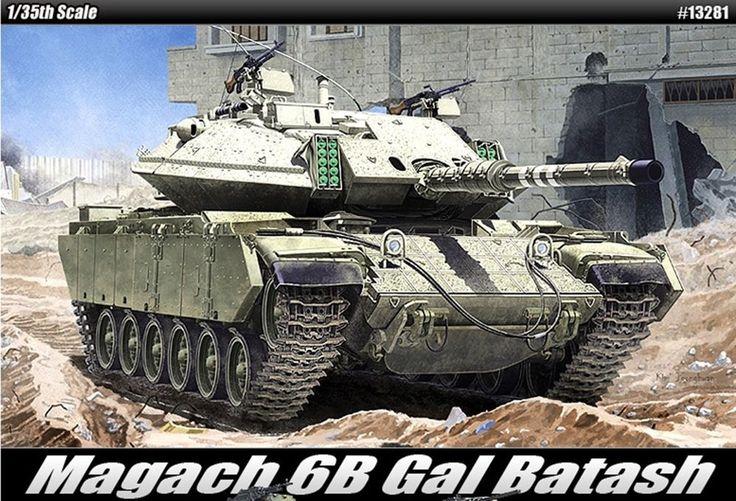 1/35 Magach 6B Gal Batash Academy model kit/ Israeli military armor/Free trackin #Academy