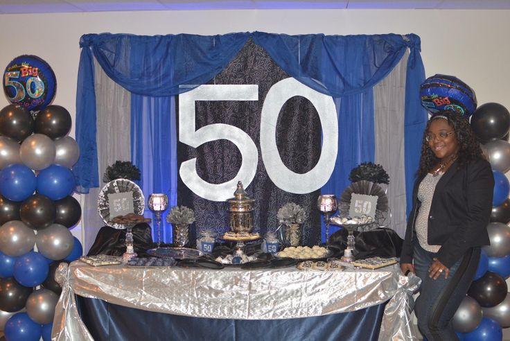 50th Birthday Celebration set up 50thbirthday