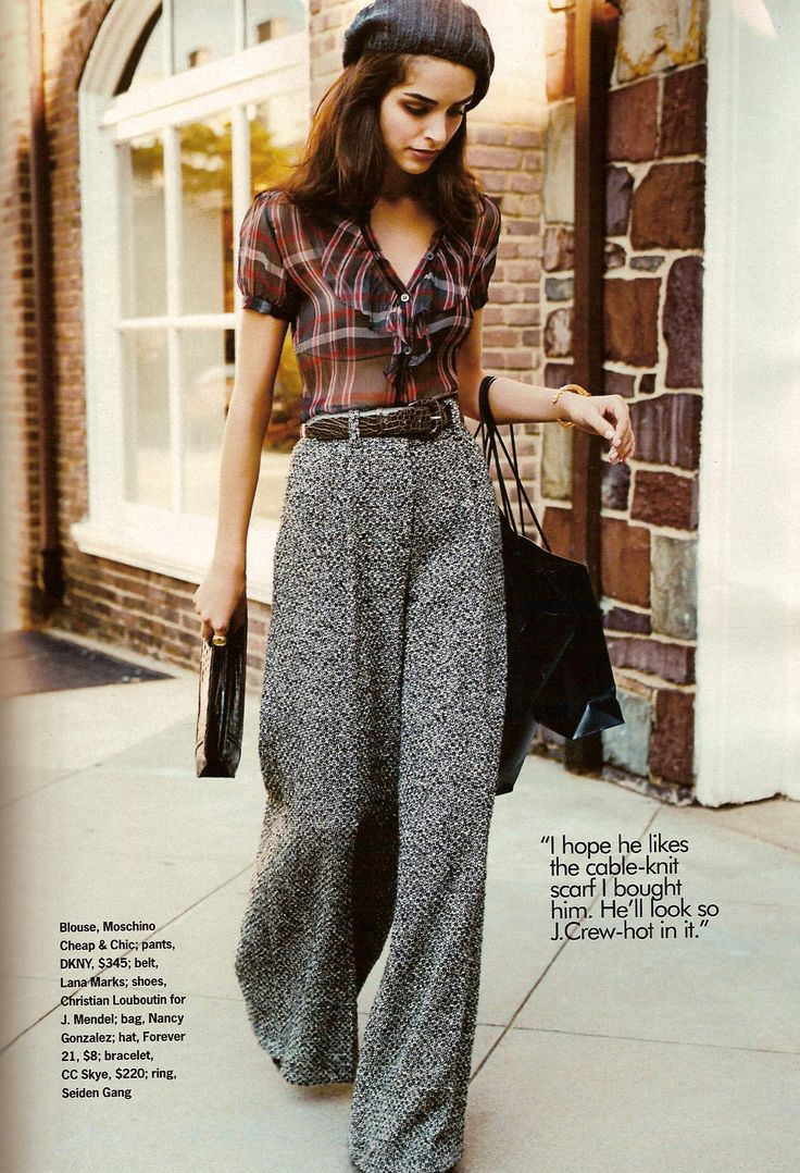 ***Favourite look, 2nd save, core look, really like the cut, length, fabric of the trousers, like the belt and top as well