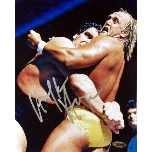 Hulk Hogan vs. Andre the Giant 8x10 Photograph