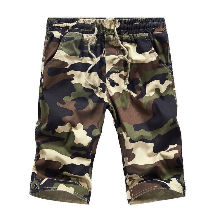 Camouflage Shorts For Men Men's Casual Shorts Board Shorts Bermuda Masculina Pantalones Cortos Short Homme korte broek.AA08