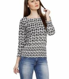 Buy Fusion Mela WOMEN'S CASUAL PRINTED COTTON TOP party-top online