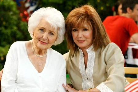 Alice and Maggie  (Frances Reid and Suzanne Rogers)