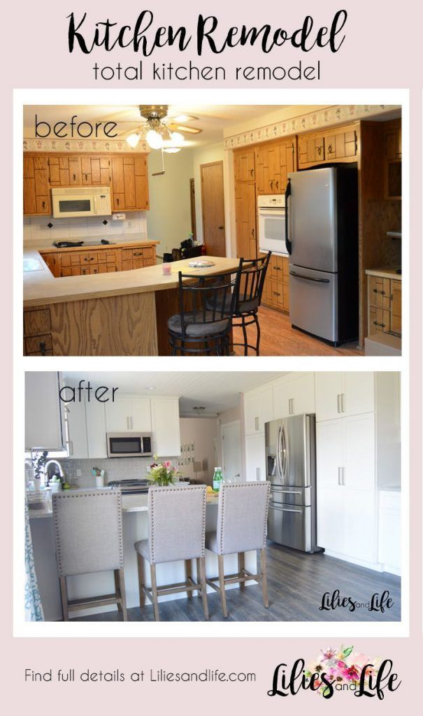 total kitchen remodel reveal click here to get inspiration for your rh pinterest com
