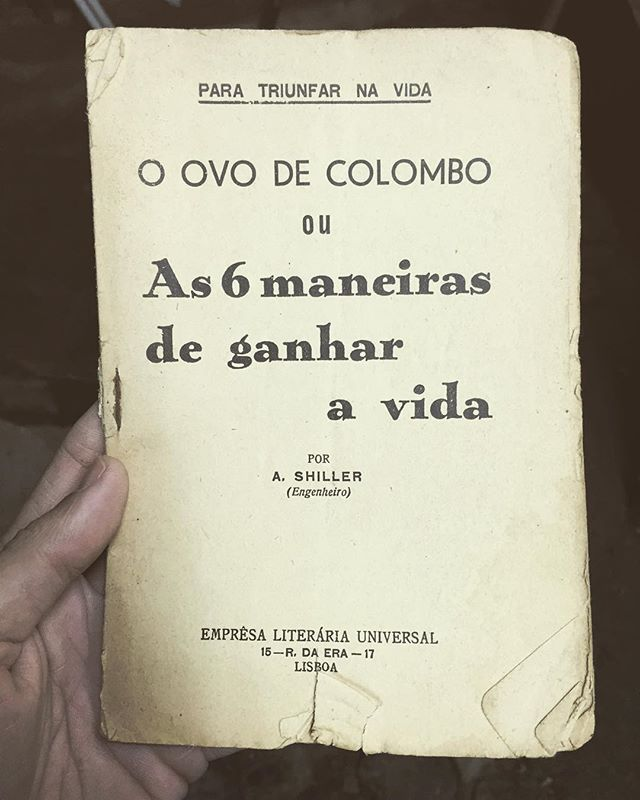in O Ovo de Colombo by A. Shiller