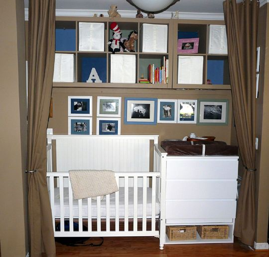 17 Adorable Ways To Decorate Above A Baby Crib: 17 Best Images About Walk In Closet Turned Nursery On