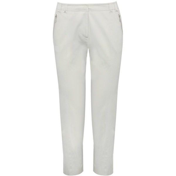 M&Co Sateen Capri Pants ($19) ❤ liked on Polyvore featuring pants ...