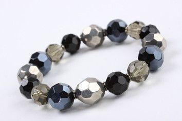 Midnight Beads Stretch Bracelet – Jewel Online