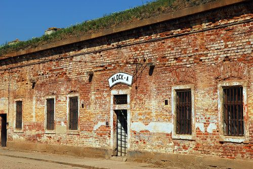 Part of the Ghetto Museum and Memorial in Terezin.