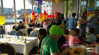 Harbour kitchen kids birthday party on Saturday afternoon