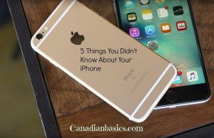 5 Things You Didn't Know about Your iPhone
