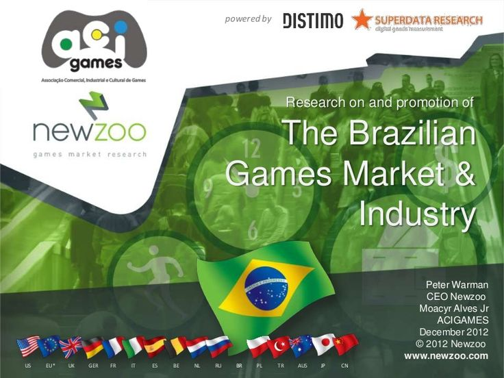 [2011 - 2102] Brazilian games market numbers comparison via @acigame http://lnkd.in/NKJ7Xv   Resultados-brasil-dos-games-2012 by ACIGAMES Association for Trade and games development in Brazil via Slideshare