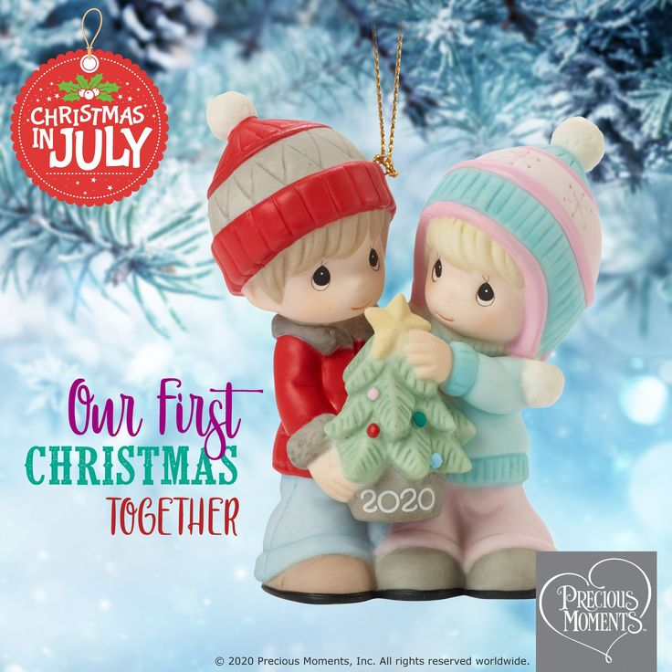 Our First Christmas Together 2020 Dated Couple Ornament in