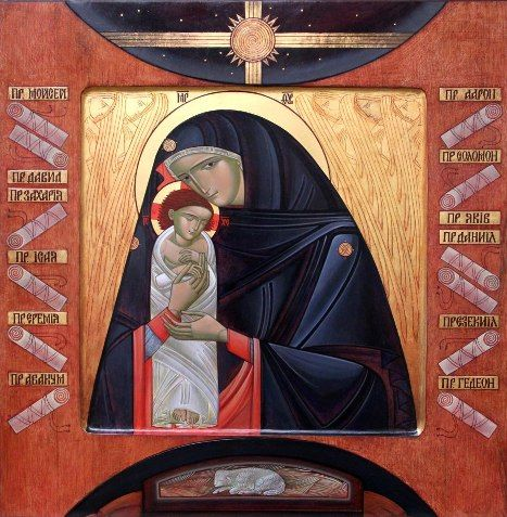 Collection - ICONART Contemporary Sacred Art Gallery - THE NATIVITY Artist: Lyuba Yatskiv