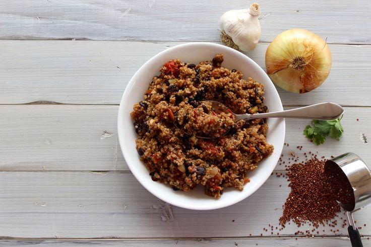 ... convert anyone into a quinoa lover!! #quinoa #dinner #mexicanfood #