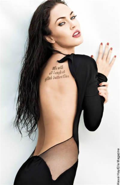 Megan FoxGirls Megan, Fashion, Sexy, Hot Girls, Meganfox, Beautiful Women, Back Tattoo, Megan Foxes Hot, Celebrities Tattoo