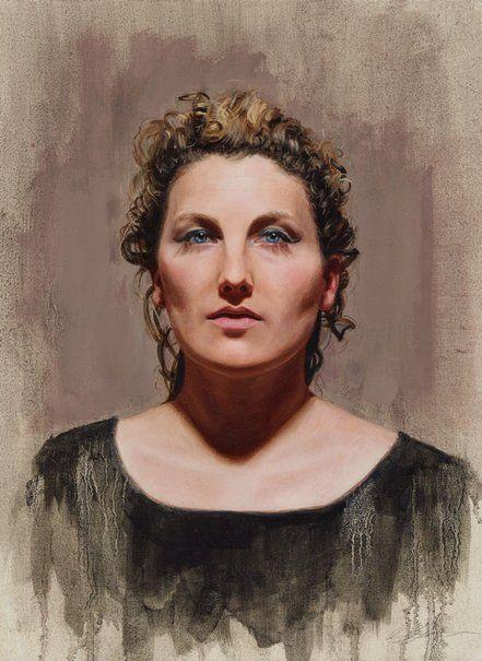 Adam Alcorn: Alice Fraser :: Archibald Prize 2015 :: Art Gallery NSW