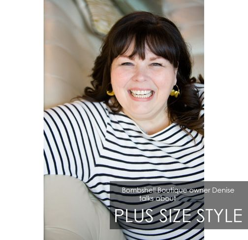 An interview with Denise Alden, owner of Bombshell, St. Paul's very own plus size boutique!