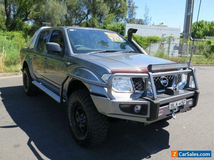2009 Nissan Navara D40 RX Grey Manual 6sp Manual 4D UTILITY #nissan #navara #forsale #australia