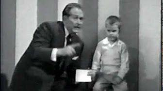 Larry Short on Art Linkletter TV show - 1963 - YouTube