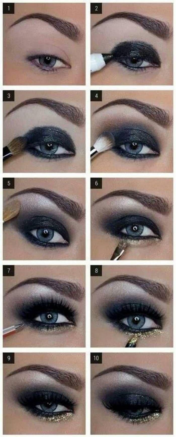 Fotos de moda   20 increíbles tutoriales de maquillaje de ojos.   http://soymoda.net