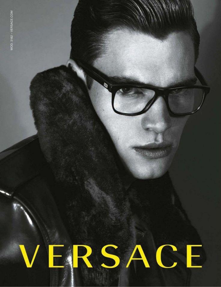 versace eyewear  Philipp Schmidt Fronts Versace Fall/Winter 2012 Eyewear Campaign ...