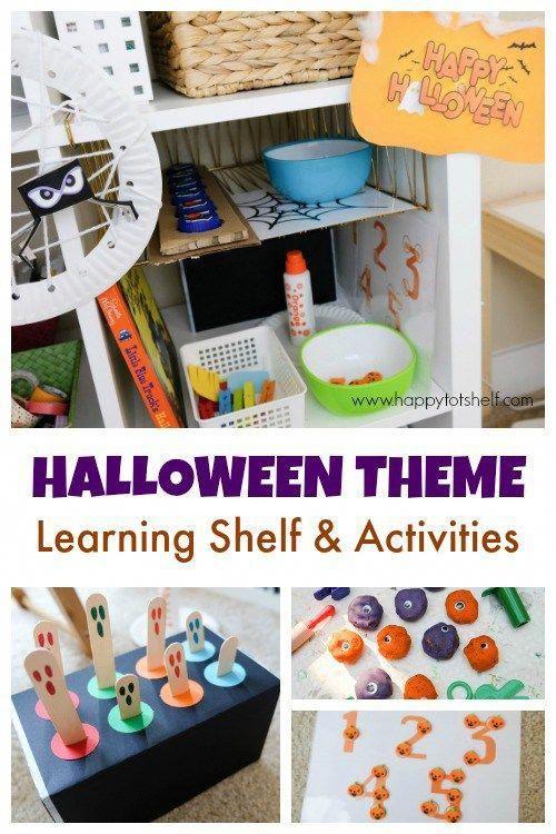halloween activities for preschoolers and toddlers halloween theme rh pinterest com