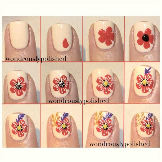 400 best Nails II: Tutorials. images on Pinterest | Nail art, Nail ...