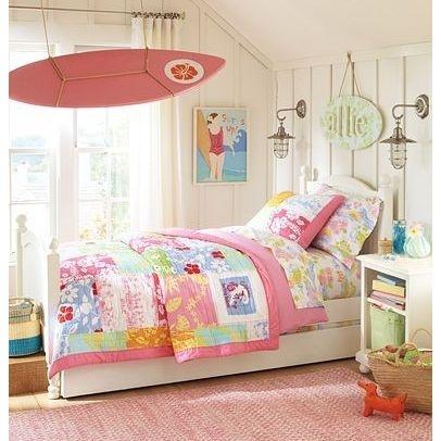 girls surfer bedroom design ideas pictures remodel and decor