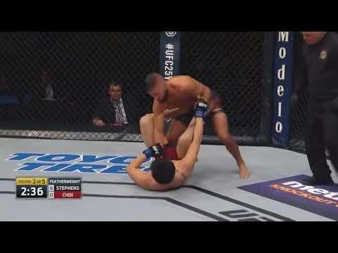 El martillazo de Stephens a Choi un KO más para que McGregor siga en casa