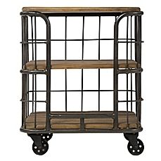 Counter Height Microwave Cart : ... Kitchen island cart, Open shelf kitchen and Microwave stand