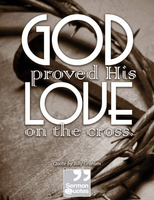 god proved his love on the cross inspirational quotes