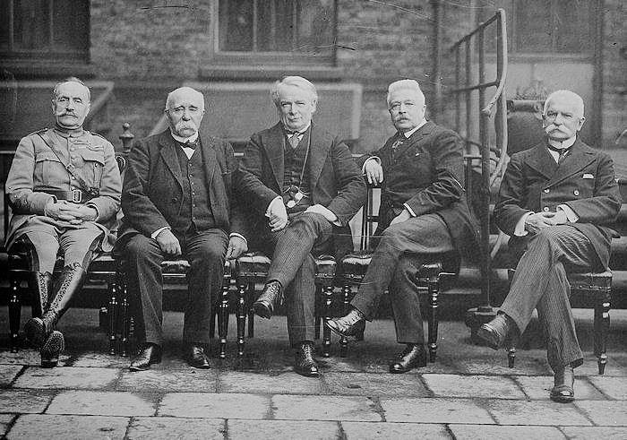 World War I  - 1918 - Deciding the Peace