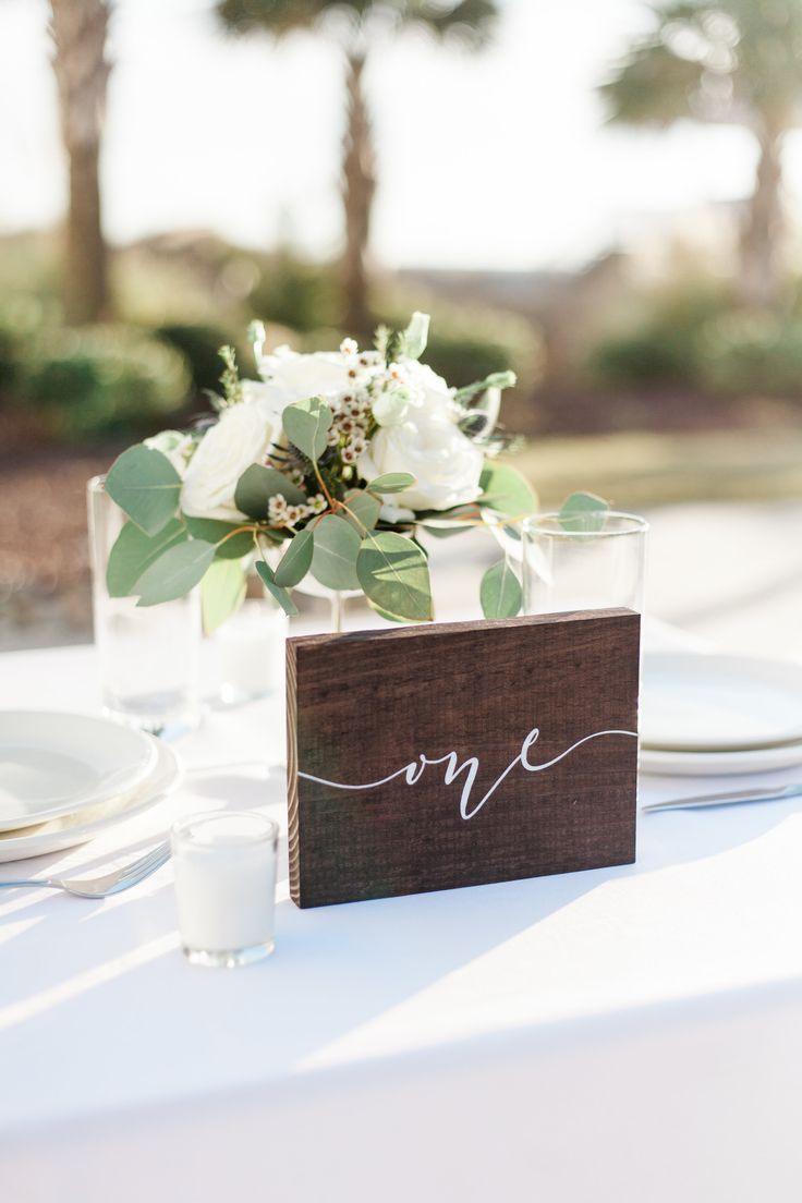 wedding table number wooden table decor ss 115 in 2019 wedding rh pinterest com
