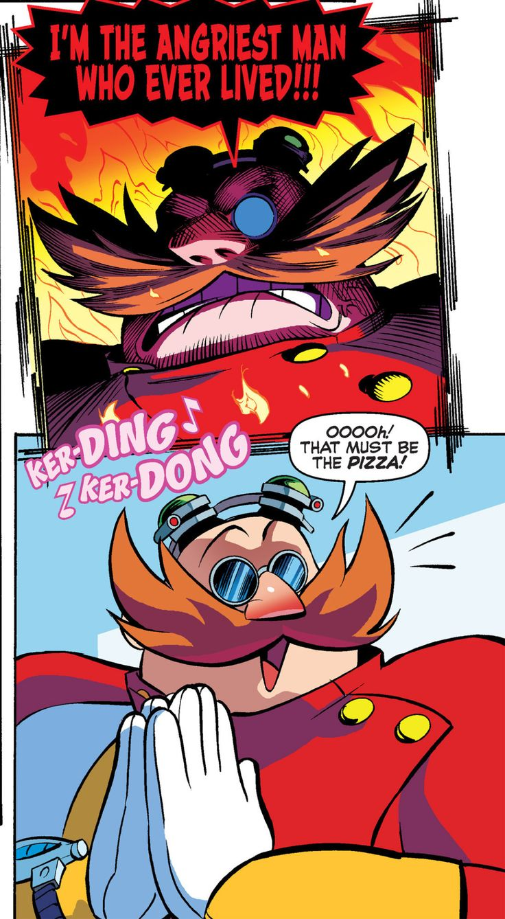Boom Eggman is best Eggman and I refuse to belive otherwise.