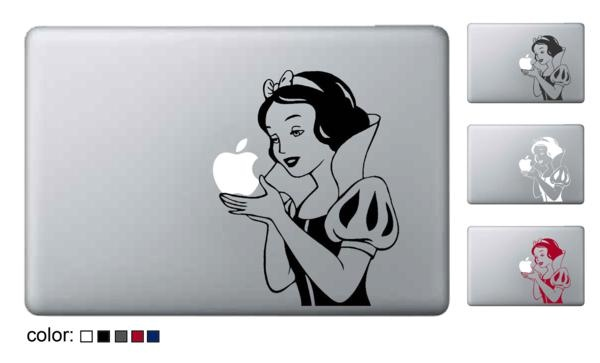 SnowWhite decal