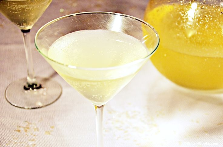 Winter White Spiked Punch Recipe | ButteryBooks.com