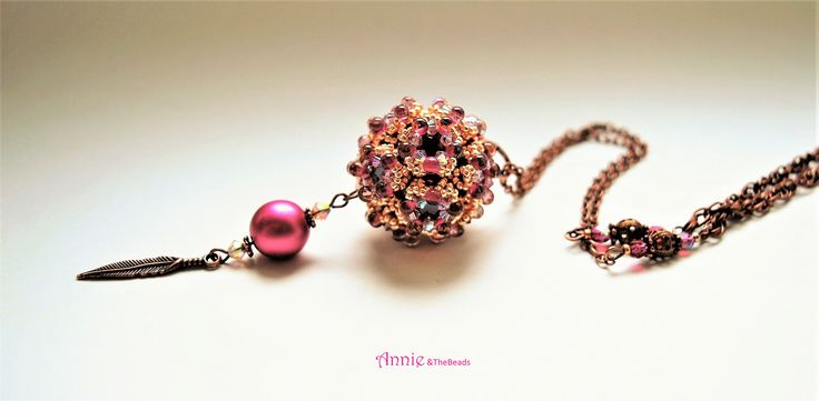 Bubble Ball, with Swarovski chatons, design by Sabine Lippert