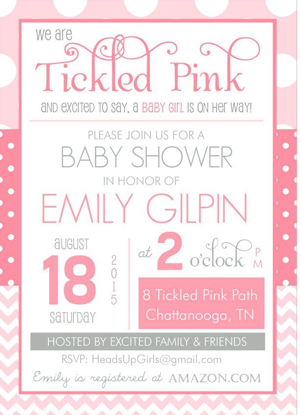free baby shower invitation templates for word 5