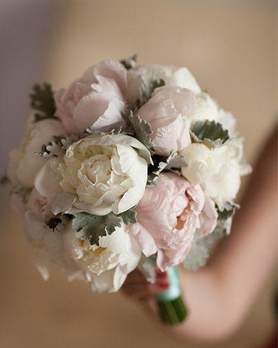 18 Peonies Bouquet Examples | Design Corral #peonies #wedding #bouquet