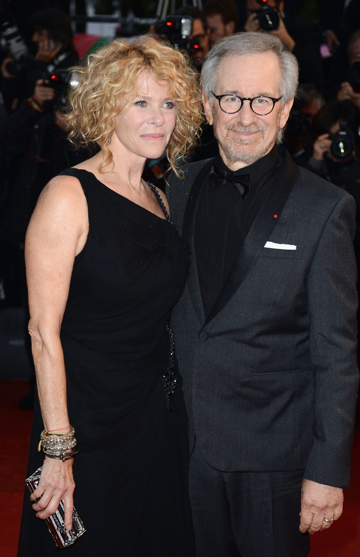 Jury President and Director Steven Spielberg with Kate Capshaw at the red carpet. Electrolux at Cannes 2013