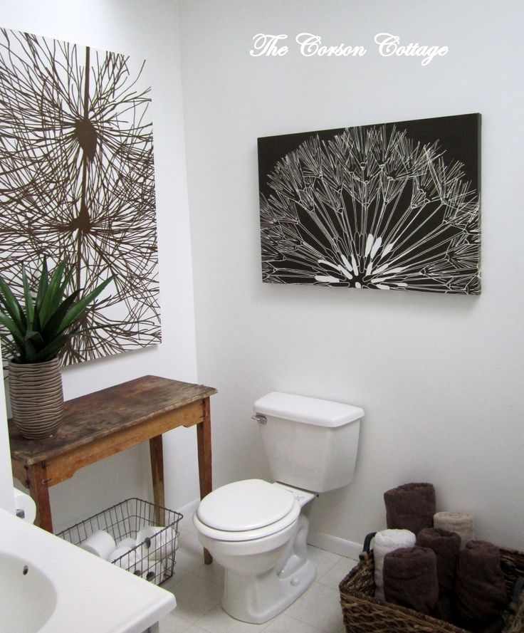 Web Image Gallery Check out this modern cottage bathroom makeover Before and after pictures included