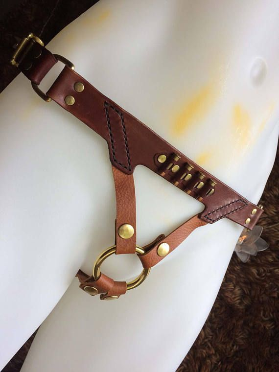 Another version of our Steampunk strap-on harness. A little more simple in design