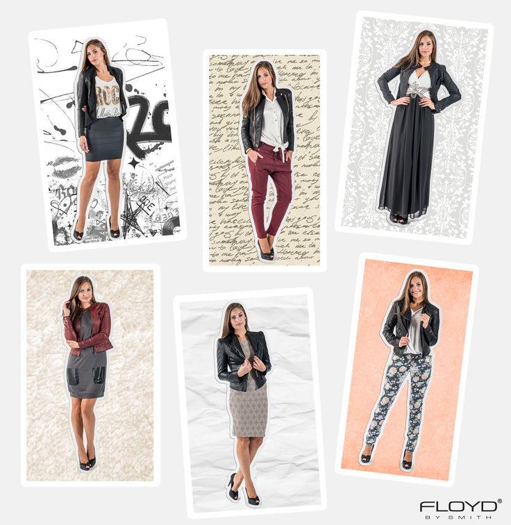 På høsten det er tid for jakker og da er skinnjakken perfekt å finne frem. Den kan styles på flere måter, og vi viser deg seks antrekk til inspirasjon.  Skinnjakken kan rocke opp et søtt antrekk eller gi en elegant kjole det lille ekstra. Den passer like fint til en avslappet stil med jeans, som utenpå en enkel kjole. Jakken trenger ikke å være sort, velg en jakke med farge for å gi et enkelt plagg et løft.
