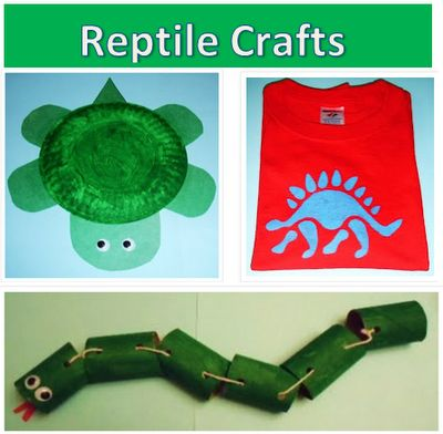 Learning Ideas - Grades K-8: Fun Reptile Craft Activities for Kids