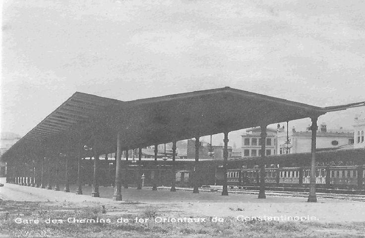 Constantinople train station
