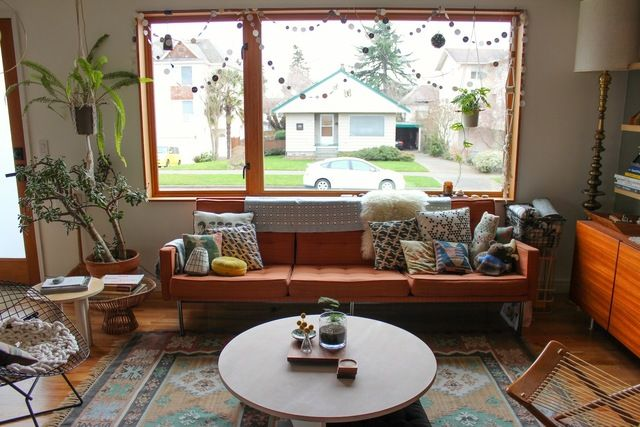 The Duplex, Right Side: Jean & Dylans Playful, Working Hideaway House Tour