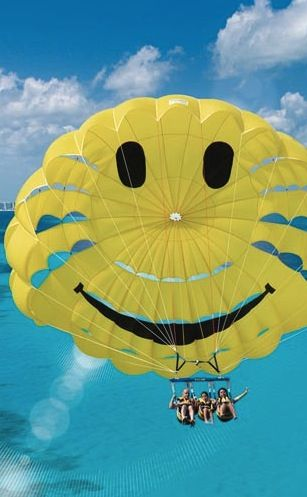 Parasailing Cancun Albion Dream Spring Break